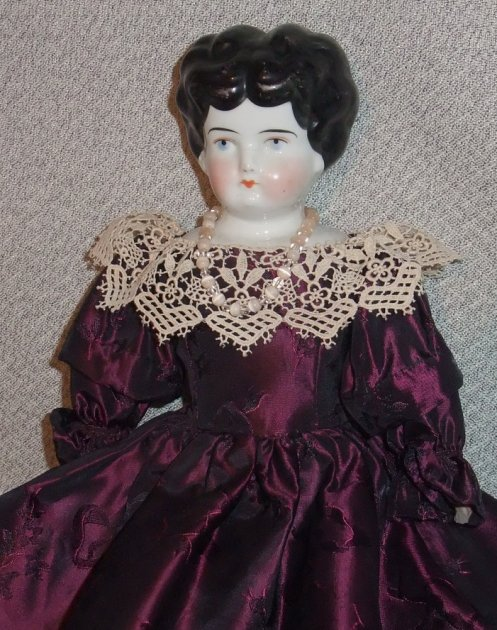 Antique China Head Doll 01