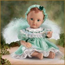 Irish Blessing Angel Baby by Ashton Drake